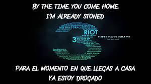 Three days grace HOME Subtitulado Espa±ol INGLES
