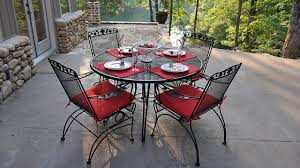 Wayfair Patio Dining Sets by Meadowcraft Patio Furniture Reviews Furniture Cheap And Unique