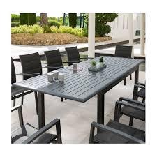 Awesome Salon De Jardin Hesperide Azua Noir Contemporary Best Table De Jardin Extensible Azua Pictures Amazing House Design