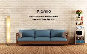 albrillo design stehle moderne stehleuchte mit