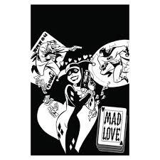 The Batman Adventures Mad Love Coloring Book