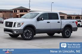 New 2018 Nissan Titan PRO-4X Crew Cab In Lincoln #4N18148   Sid ... Nissan Titan 65 Bed With Track System 62018 Truxedo Truxport Trucks For Sale In Edmton 2017 Crew Cab Pricing Edmunds Sales Are Up 274 Percent Over Last Year The Drive 2018 Titan Xd Truck Usa New For Warren Oh Sims 2016nisstitanxd Fast Lane Used 2012 4x4 Crewcab Sl Accident Free Leather Preowned 2013 Pro4x Pickup Cicero 2016 Titans Turbo Diesel Might Be Unorthodox But Its Review Autoguidecom News Partners With Cummins Diesel