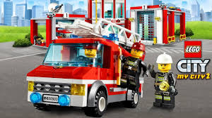 LEGO CARTOON. Lego City My City 2 : Lego Police , Fire Helicopter ...