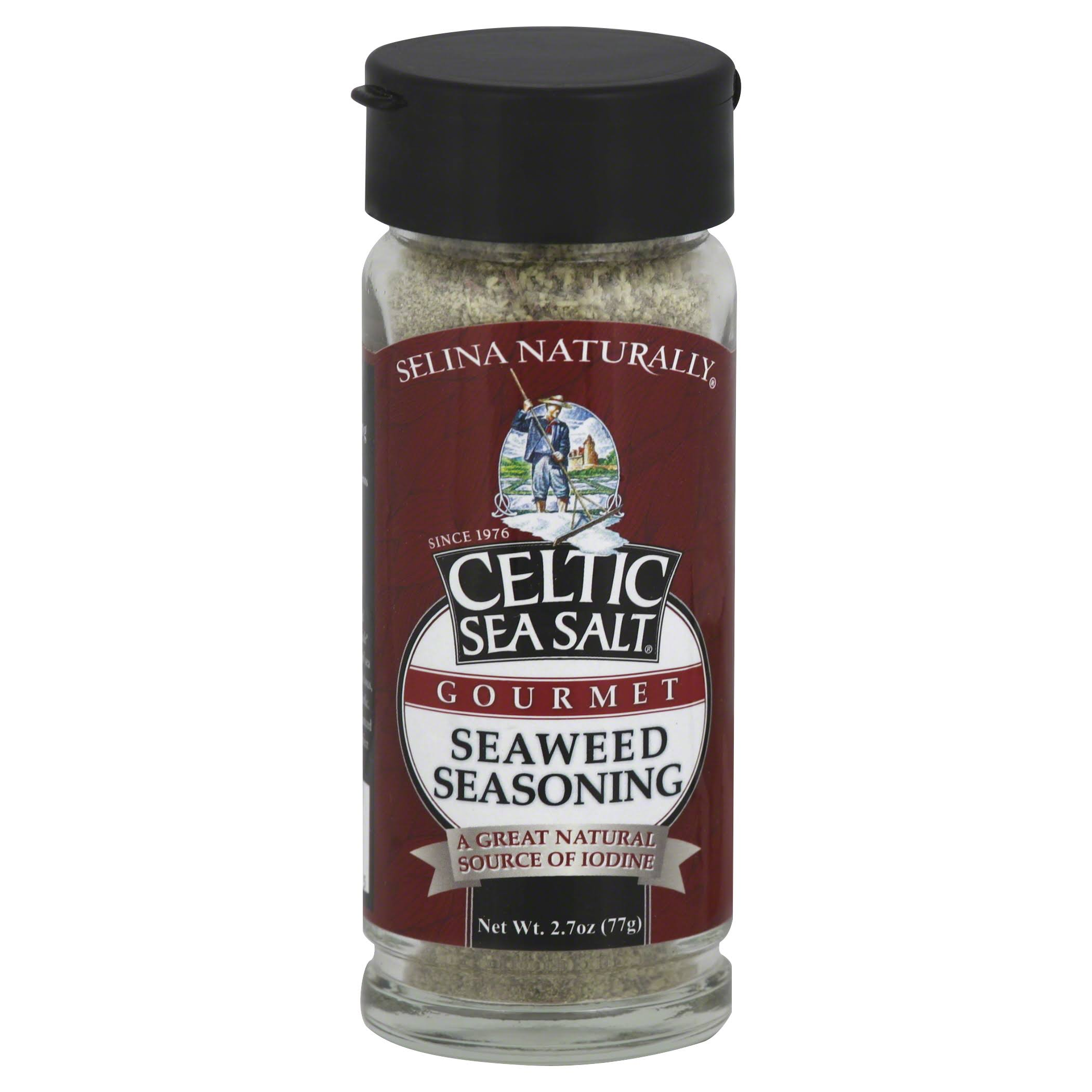 Celtic Sea Salt Gourmet Seaweed Seasoning Shaker - 2.7oz
