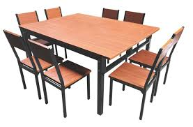 [Hot Item] Regular 50 Square Tube 1000*1000 CKD (completely Knock Down)  Metal Steel Iron Hotel Restaurant Dining Table With Chair Set And Wooden  Board ... Knocker Back Ding Chairs Steel Table Set Dporticus 5piece Ding Set Industrial Style Wooden Kitchen Table And Chairs With Metal Legs Espresso Stone 4 Chair Source Exclusive Stools Tables In Toronto Silver Shine Bright Fniture Costway 5 Piece Wood Breakfast Room Sets Rustic Frame Brown Ex Archibalds Walnut Brushed Extendable 6 X Aberdeen Gumtree Details About Tempered Glass Top Fashion Steel Pcs Circular Glass Top Stainless Base White Cramond Edinburgh Us 14299 Shipping W4 Black Whitein From On