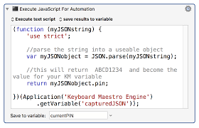 Convert JSON String Variable To JSON Object Using JXA Questions