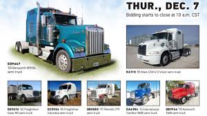 Truck And Trailer Auction | December 7, 2017 | Purple Wave - YouTube Future Bull Hauler No Doubt Bull Racks Cowboy Cadillacs Lvo Tractors Semi Trucks For Sale Truck N Trailer Magazine Intertional Single Axle Sleepers Freightliner Stock Photos Search Inventory Nebraska Center Images Alamy Warner Truck Centers North Americas Largest Dealer Trucking Inrstate 2007 Columbia Semi Truck Item Da0520 Sold 2012 Custom Rigstrucking Pinterest Tow For In Truckdomeus Roehl Transport Equipment Sales Leasing Roehljobs