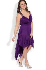 plus size high low halter dress with illusion back and stone