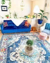 moroccan decor bohemian living blue bohemian living room