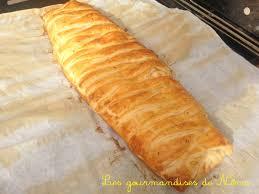 tresse feuilletée jambon fromage les gourmandises de némo