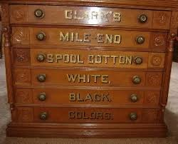 Antique Spool Cabinet Decals by Iron Horse Antiques Spool Cabinets Part 2