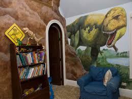 Dinosaur Bedroom Decor Unique Big Scene Removable Wall Decal Dinosaurs Stickers Ebay