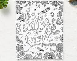 Floral Coloring Page Adult Book Printable Pages Anti Stress Instant Download