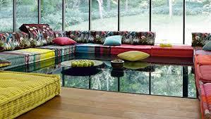 canapé modulable maison du monde un canapé modulaire mah jong élégant
