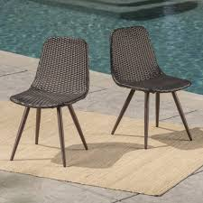 Gilda Outdoor Multibrown Wicker Dining Chairs With Dark Brown Powder ... Cantik Gray Wicker Ding Chair Pier 1 Rattan Chairs For Trendy People Darbylanefniturecom Harrington Outdoor Neptune Living From Breeze Fniture Uk Corliving Set Of 4 Walmartcom Orient Express 2 Loom Sand Rope Vintage Weng With Seats By Martin Visser For T Amazoncom Christopher Knight Home 295968 Clementine Maya Grey Wash With Cushion Simply Oak Practical And Beautiful Unique Cane Ding Chairs Garden Armchair Patio Metal