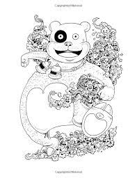 Doodle Invasion Zifflins Coloring Book Kerby Rosanes Pages