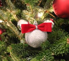 Make Your Own Minnie Mouse Christmas Ornament