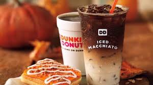Pumpkin Iced Coffee Dunkin Donuts 2017 by Dunkin Donuts Pumpkin Spice Cold Brew Youtube