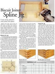 Hardwood Floor Spline Glue by Biscuit Joiner Spline Jig U2022 Woodarchivist