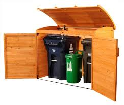 Can Shed Cedar Rapids by Amazon Com Leisure Season Horizontal Refuse Storage Shed Solid