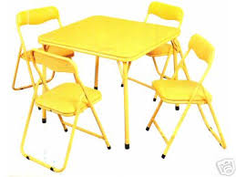 innovative folding childrens table and chairs folding table and