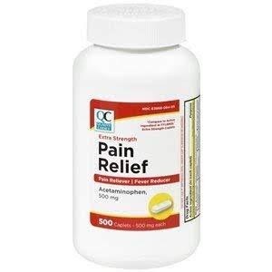 Quality Choice Extra Strength Non-aspirin Pain Relief - 500mg, 500ct