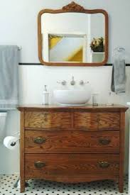 Photos Of Primitive Bathrooms by Best 25 Dresser Sink Ideas On Pinterest Diy Upcycled Vanity