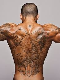 Cool Full Back Tattoo For Men