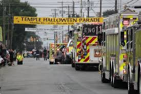 Boyertown Halloween Parade 2014 by Temple Halloween Parade Helps Kick Off Creepy Holiday Season