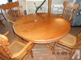 200 Solid Oak Table Chairs Brandenburg KY