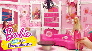 Barbie Living Room Playset by Sticker It Up Barbie Live In The Dreamhouse Barbie Youtube