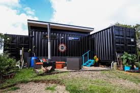 104 Container Homes Kiwi Woman Builds Off Grid Home Using Five 20ft Shipping S