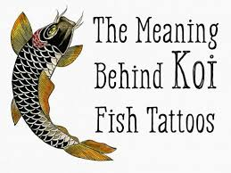 The Meaning Behind Koi Fish Tattoos Of Different Colors And Orientations