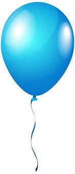 2716x6301 blue balloon clipart png
