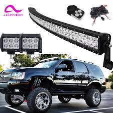 100 Utv Truck Rack CanAm Maverick 1000 UTV 50 Led Light Bar 2X 4 18W POD
