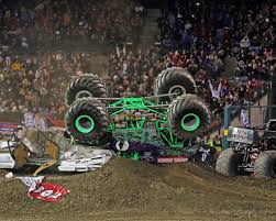 100 Monster Truck Crashes Dennis Andersons Grave Digger Rollover In A Flickr