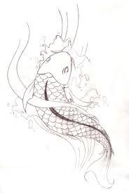 Koi Fish By Japanese