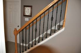 Banister Baluster Iron Stair Balusters With Railing Trendy Iron ... Custom Railings And Handrails Custmadecom Banister Guard Home Depot Best Stairs Images On Irons And Decorations Lowes Indoor Stair Railing Kits How To Stain A Howtos Diy Install Banisters Yulee Florida John Robinson House Decor Adorable Modern To Inspire Your Own Pin By Carine Az On Staircase Design Pinterest Image Of Interior Wrought Iron 10 Standout Why They Work 47 Ideas Decoholic