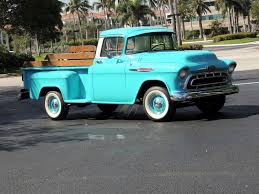 1957 Chevy 3200 Pickup Truck - Hollywood Wheels Auction Shows 1955 Chevy Truck For Sale Youtube 57 Pickup Truck 1 Ton Extended Cab Dually With 454 Sitting 1957 Chevrolet Pick Up Bangshiftcom Stock Photos Images Alamy 9 Sixfigure Trucks The Trade 3100 Swapping Stre Hemmings Stance Works Adams Rotors Pickup Chevrolet 3100sidestep Rat Rod Hot No Reserve Awesome Engine Install Used Step Side At Webe Autos Serving