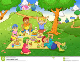 Playground clipart picnic Pencil and in color playground clipart