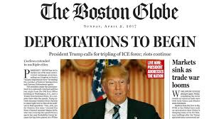 Donald Trump Boston Globe Satire Us Presidential Elections