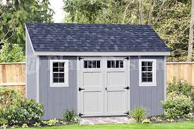 Shed Plans 16x20 Free by Storage Shed Plans 6 U0027 X 14 U0027 Deluxe Lean To Slant D0614l Free