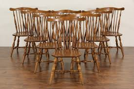 Maple Dining Chairs Bleached And Leather Modern Chair For Sale At 1stdibs