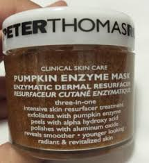 Pumpkin Enzyme Mask by Peter Thomas Roth Mask A Holic Kit Review Happy Vibes