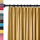 amazon com pinch pleat panels draperies curtains home