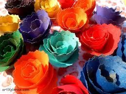 Flower Making Paper Crafts