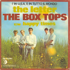 45cat The Box Tops The Letter Happy Times Ricordi