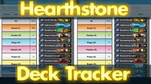 hearthstone deck tracker setup track your deck s cards stats