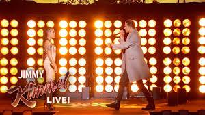 Hey Jimmy Kimmel I Did by Watch G Eazy And Halsey Perform New Single U0027him U0026 I U0027 On U0027jimmy