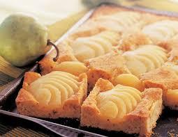 birnen mandel blechkuchen